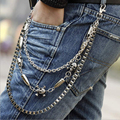 Good Deal Hip-hop Punk Rock Cowboy Pants Chain Waist Band Waist Belts Gift 1PC