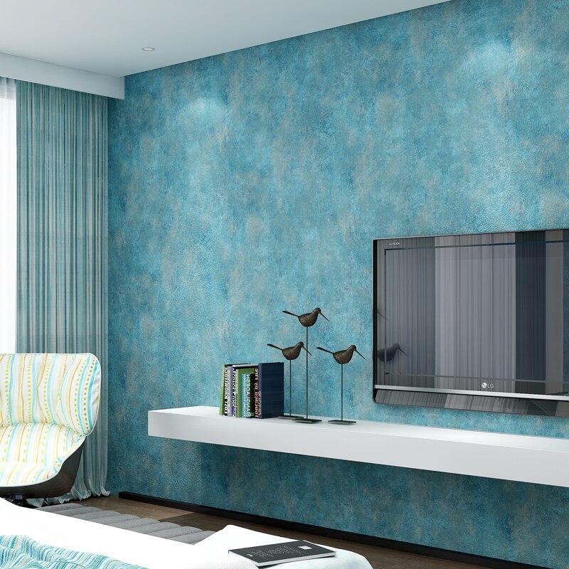 plain retro living wall bedroom paper solid 3d landscape wallpapers walls shade colors linen woven non european popular luxury mottled