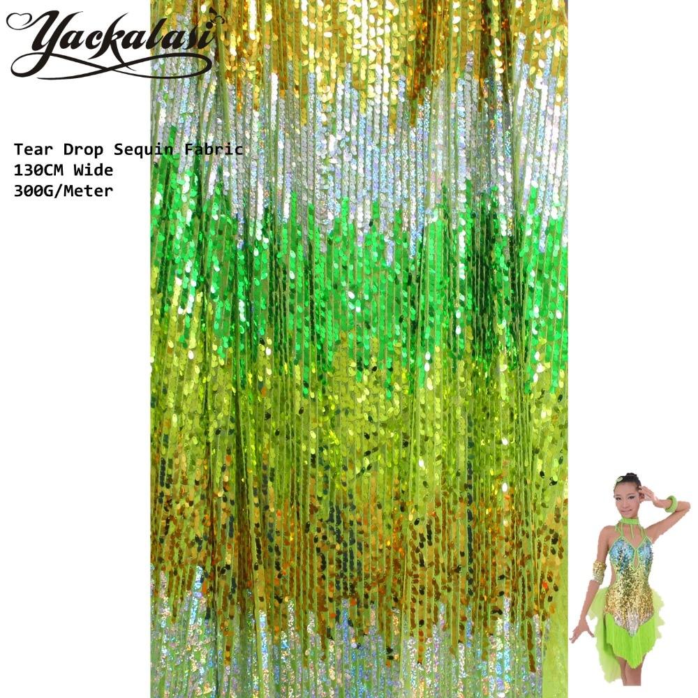 Sparkly Sequined Lace Fabric Διάφορα Χρώματα Stripe - Τέχνες, βιοτεχνίες και ράψιμο - Φωτογραφία 5