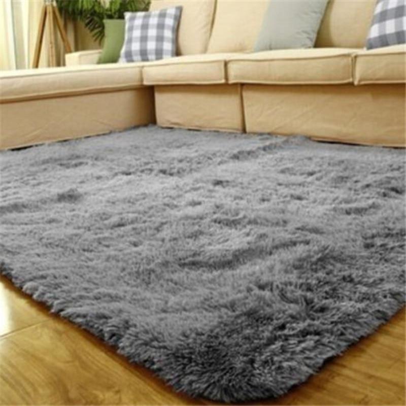 calidad moderna tapetes y alfombras para sala de estar casera y tapetes de quarto moda alfombras de sala multicolores slidos 80 120 cm en alfombras de - Alfombras Modernas
