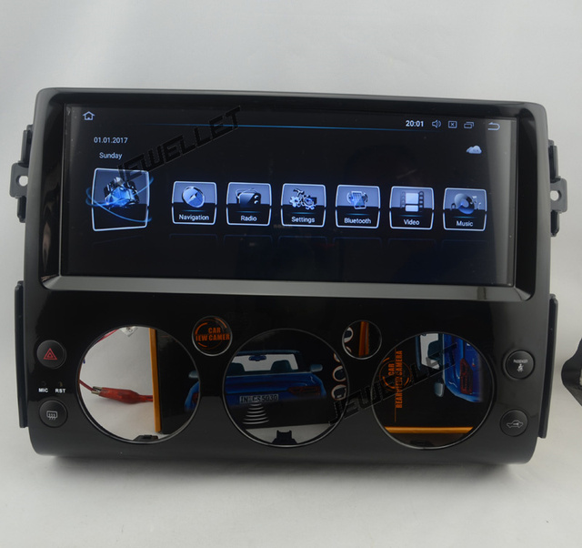"""12.3"""" Octa core  Android 9.0 Car GPS radio Navigation for Toyota FJ Cruiser  with 4G/Wifi, DVR OBD"""