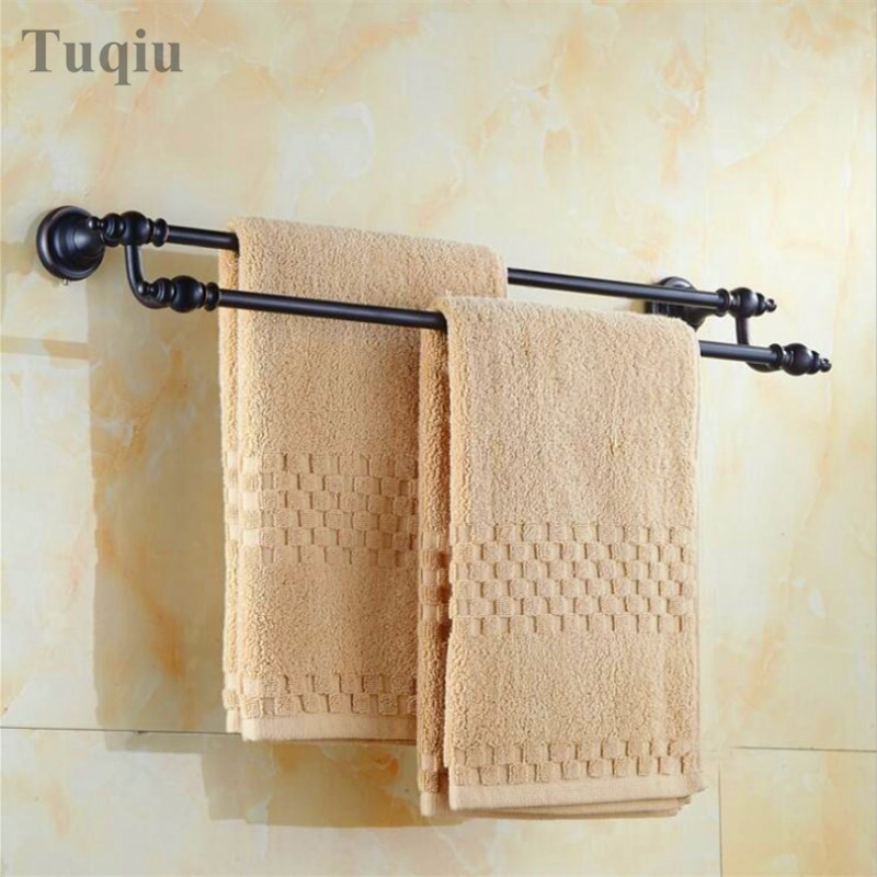 Free Shipping Black Antique Wall Mounted Towel Ring Unique