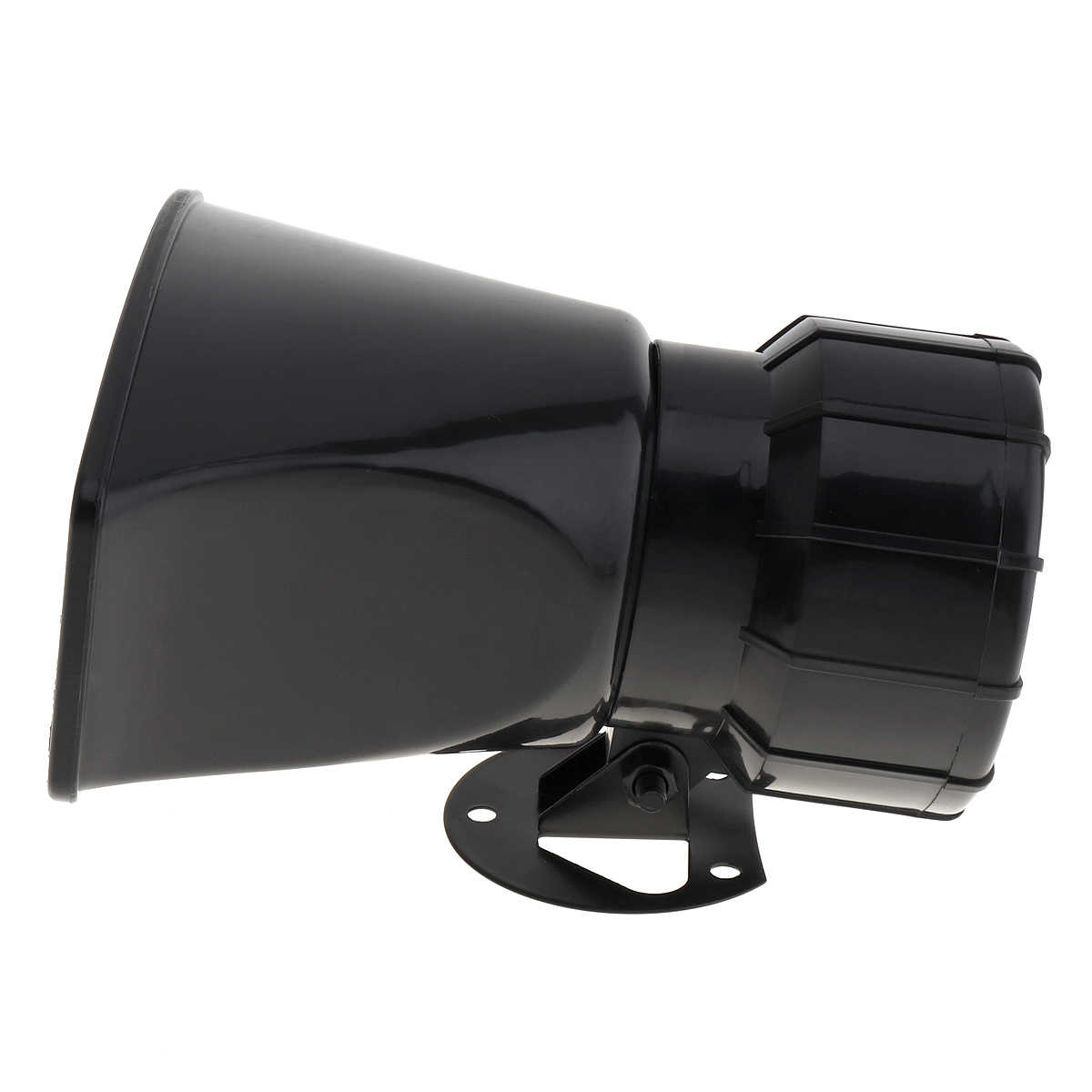12V 100W 7 звук громкий звуковой сигнал авто Предупреждение сигнал тревоги полиции пожарной сирена рупор громкоговоритель с коричневыми пульт дистанционного управления