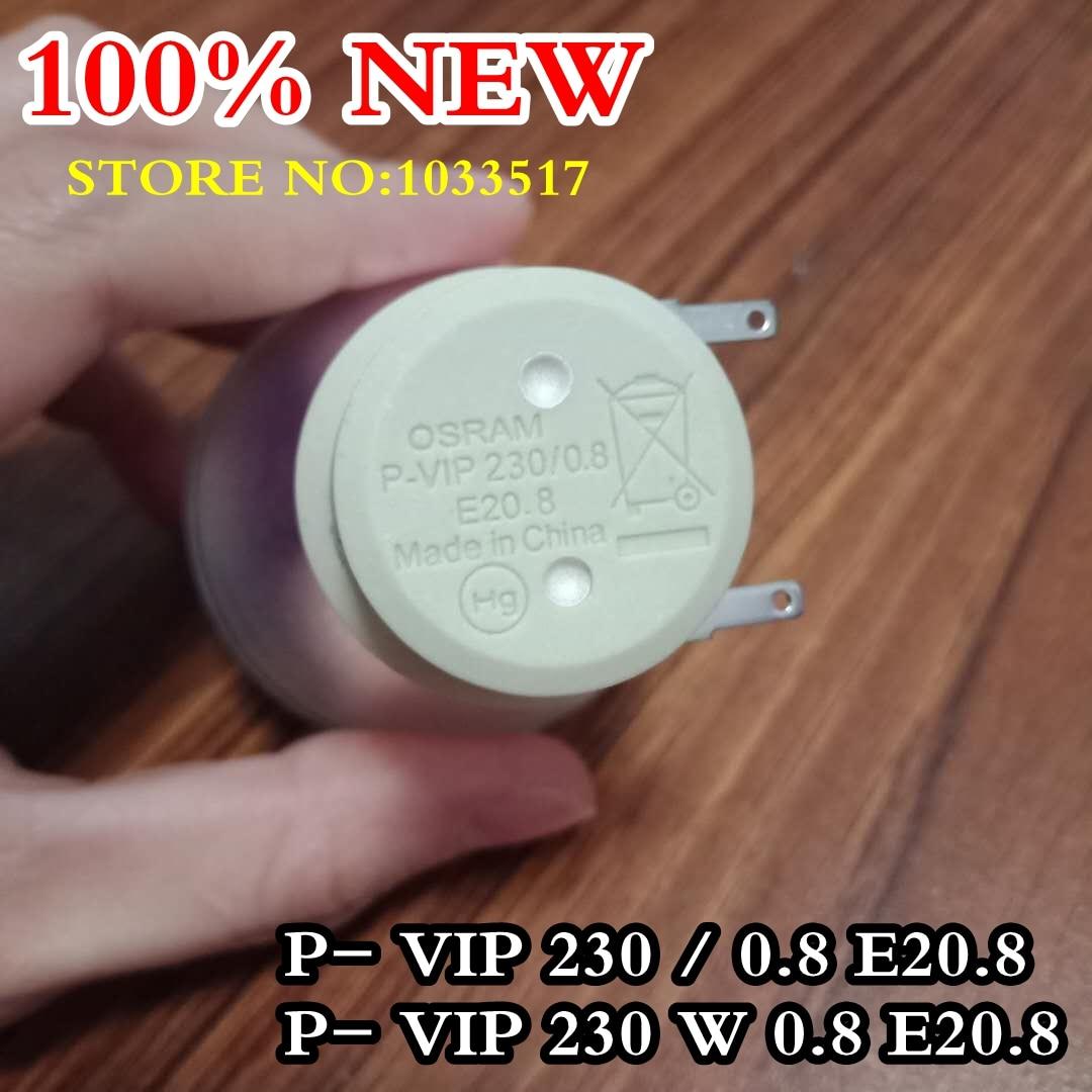 Tüketici Elektroniği'ten Projektör Ampulleri'de Yepyeni orijinal projektör ampulü P vip 230/0.8 E20.8 P vip 230 W 0.8 E20.8 optoma projektörler