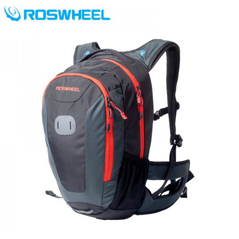 ROSWHEEL 18L Ultralight Mountain Bike Bag Hydration Pack Water Backpack Cycling Bicycle Bike/Hiking Climbing Pouch 3 Colors roswheel 22l ultralight cycling mountain bike bag hydration pack water backpack reflective bicycle bike hiking climbing pouch