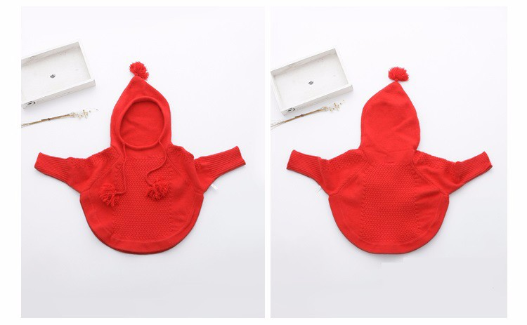 child hooded knitted sweaters 2