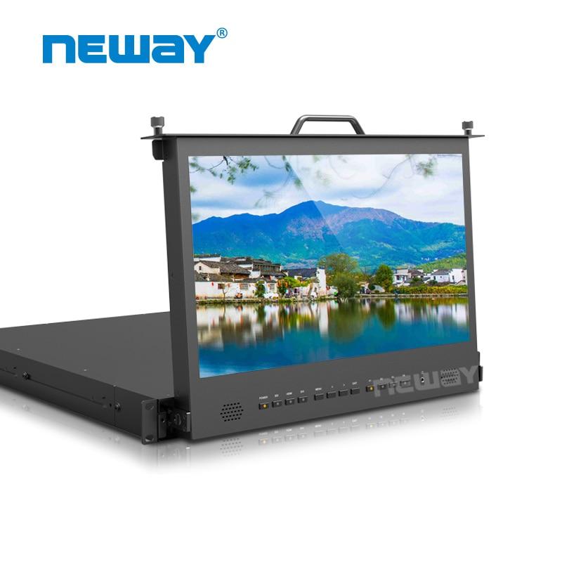 Neway RM173S 1RU тіреуіші 17,3 дюймдік HDMI 3G SDI - Камера және фотосурет - фото 1