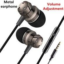 سماعات رأس رياضية بسلك في الأذن سماعات سمّاعات رأس تحكم بمفتاح مع ميكروفون سماعات موسيقي للهاتف المحمول والكمبيوتر الشخصي