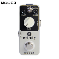 New And Orioginal Effects Mooer Eleclady Flanger Guitar Pedal Free Shipping