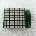 8x8 Квадратной Матрицы Красный СВЕТОДИОДНЫЙ Дисплей точка Module74hc595 Привод для Arduino UNO MEGA2560 ИЗ-ЗА raspberry pi