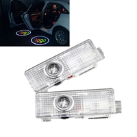 2pcs No Drilling LED Ghost Shadow Projector Laser Courtesy Logo Light For Mini Cooper Clubman R50