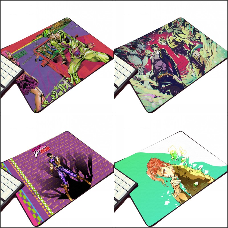 Mairuige Hot Animation Product Pc Computer Gaming Mousepad JoJo s Bizarre Adventure Pattern Printed Mouse Pad