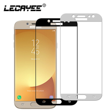 for Samsung J5 J7 J3 2017 Screen Protector Full Cover Tempered Glass for Samsung Galaxy SM-J530 J330 J730 Glass Eurasian version цена