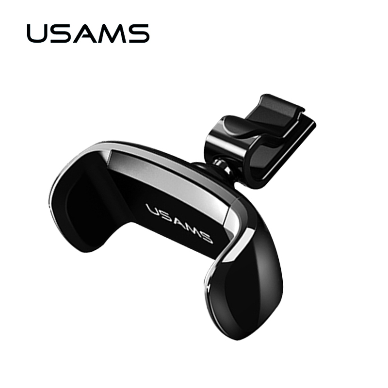 USAMS Car Holder for iPhone Samsung Mobile Phone Holder Car Air Vent Mount Holder 360 Ratotable Mobile Phone Holders Stands