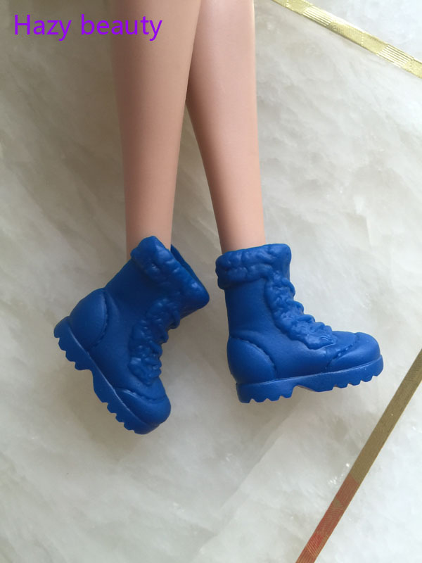 <font><b>doll</b></font> <font><b>shoes</b></font> blue <font><b>shoes</b></font> flat foot <font><b>shoes</b></font> new style for BB <font><b>dolls</b></font> BBBI921 image