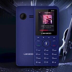 Image 5 - LEAGOO B13 Funktion Handy 1,77 32 MB + 32MB Senior Kinder Mini Telefon Russische Tastatur 2G GSM Push Taste Schlüssel Handy