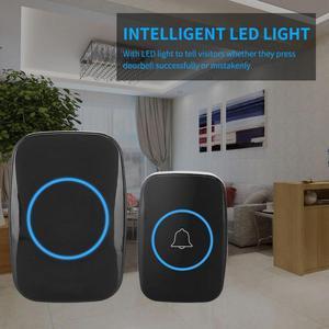 Music LED Wireless Doorbell Wa
