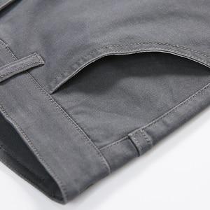 Image 4 - Jantour אביב קיץ חדש מכנסי קזואל גברים כותנה Slim Fit מכנסי כותנה באורך קרסול מכנסיים אופנה מכנסיים זכר מותג בגדים 27