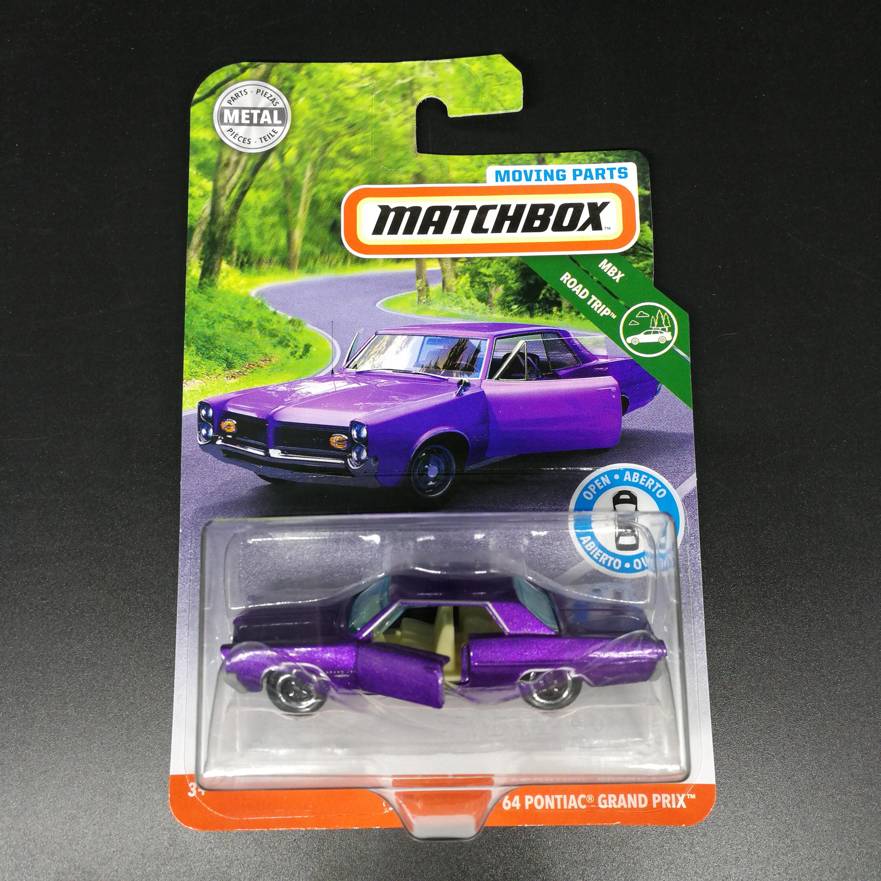 2019  Matchbox Car 1:64 Sports 64 PONTIAC GRAND PRIX  Metal Material Body Race Car Collection Alloy Car Gift