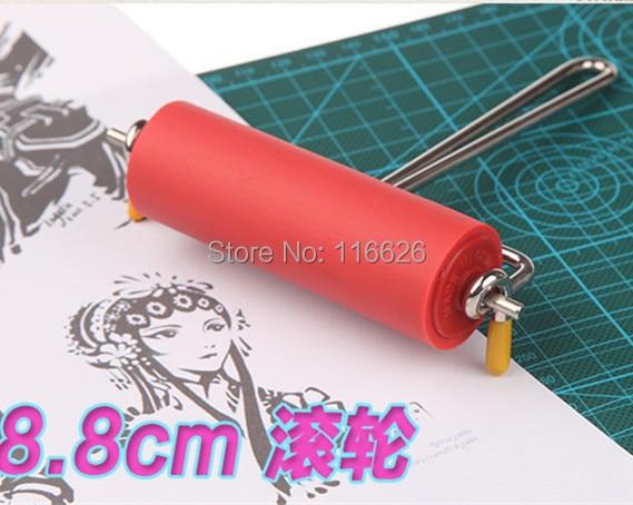 S / M / L tamaño promocional diy sello de goma rodillo para colorear - Artes, artesanía y costura