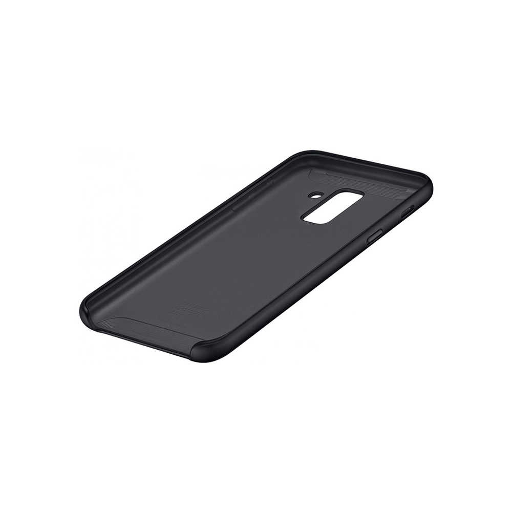 Чехол-накладка Samsung EF-PA605C Dual Layer Cover для Samsung Galaxy A6+ (2018) чёрный