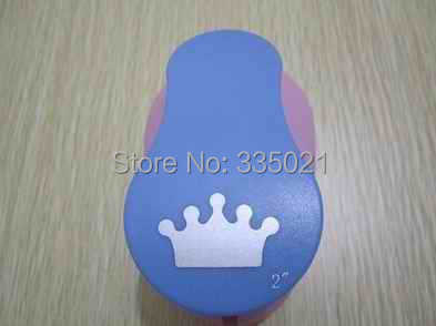 free shipping 2(5.0cm) crown EVA foam punch craft punch DIY punch greeting card handmade puncher Scrapbook Handmade puncher