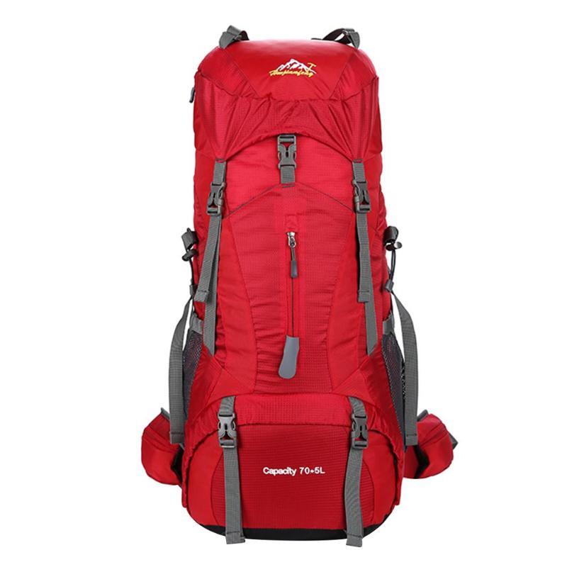 Водостойкий нейлоновый 75L большой емкости походный рюкзак на открытом воздухе путешествия горный подъем Рюкзак Спортивная Сумка Рюкзаки