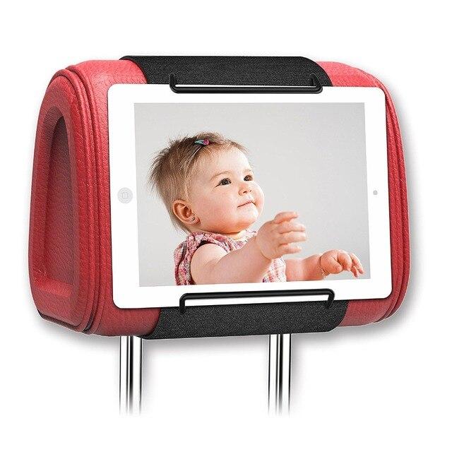 רכב משענת ראש ההר iPad, iPad mini, iPad אוויר, Samsung Galaxy Tab, מחזיק משענת ראש ההר עבור וידאו משענת ראש אמזון קינדל אש