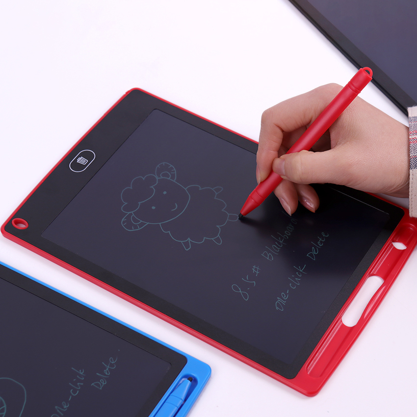 Color : Blue B, Size : 15 inches Dygzh LCD Tablet 15-inch LCD Panel Graffiti Handwriting Intelligent Electronic Board LCD Light Children Blackboard Drawing Board LCD Writing Board