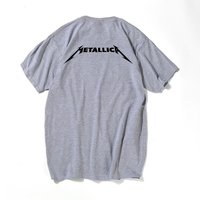 Metallica Hard Metal Rock Band Men S T Shirt T Shirt 2017 New Short Sleeve Cotton