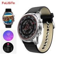SmartWatch GPS 3 г Wi Fi сердечного ритма Водонепроницаемый SmartWatch 512 МБ 8 ГБ Android 5.1 одежда WhatsApp Сенсорный экран Смарт часы электронный