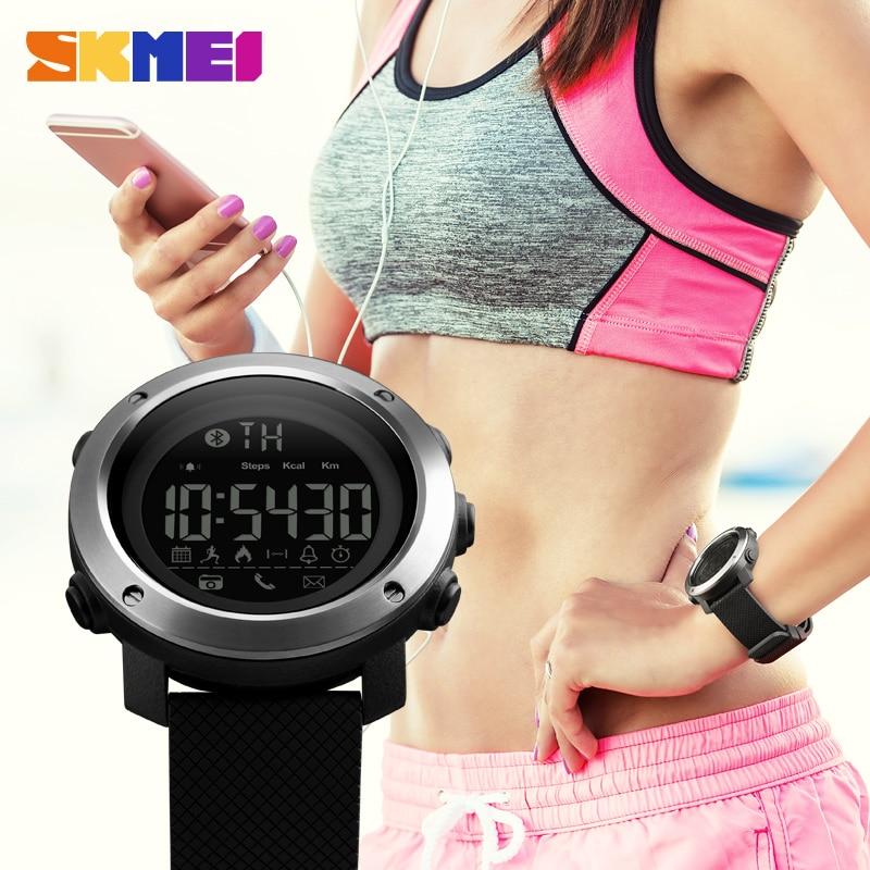 SKMEI Classic Smart Watch APP Напоминание Шагомер Удаленная Камера Фитнес-Трекер Наручные Часы Sleep ✔