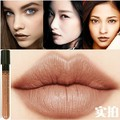 New Arrival Waterproof Milik Chocolate Color Lipstick matte smooth liquid lipgloss Long Lasting Lip Makeup