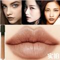 Nova chegada Waterproof Milik Chocolate batom cor mate suave líquido lipgloss longa duração Makeup Lip