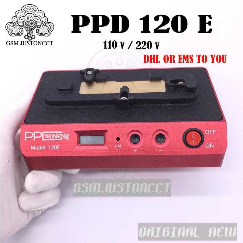 DHL TO PPD 120E demolition welding platform low temperature demolition A8 A9 Chip CPU NAND BGA Rework Platform For iPhone 7 6s Phone Adapters & Converters     - title=