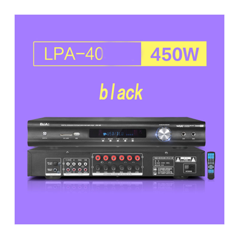 LPA-40 home amplifier 5.1 professional digital HIFI high power home theater optical fiber coaxial Bluetooth amplifier цена