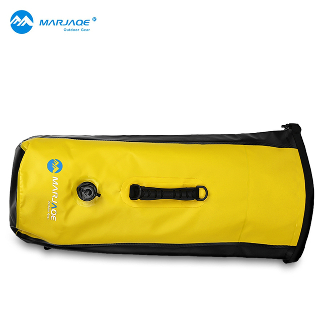 Marjaqe 30l Large Waterproof Floating Dry Bag Backpack Drift Sports Hiking Camping High Quality Outdoor Kits