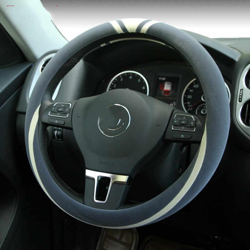 Плюшевые крышка рулевого колеса Короткие Плюшевые ботинки короткие волосы Автомобильный интерьер