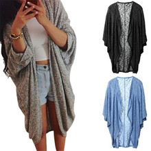 The most Womens Lady Casual Knit Sleeve Sweater Coat Cardigan Jacket