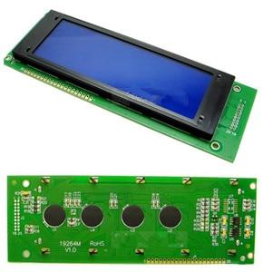 20PIN 19264 LCD Graphic Module KS0107 KS0108 Controller 3.3V 5V Blue Backlight White Word