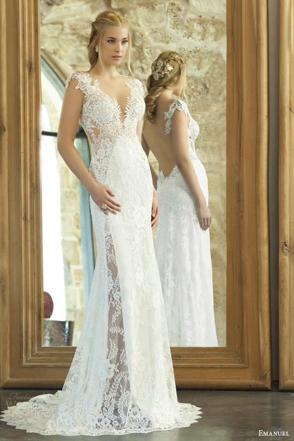 Beach Sexy Lace Wedding Dresses