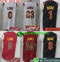 8ddefd30eace Signature Free shipping A+++ quality Mens Adult  23 LeBron James 0 Kevin  Love 5 JR Smith 2 Collin Sexton signed Jersey Cleveland