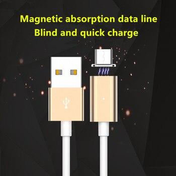 Magnetic micro usb adaptador cable de carregamento de dados cabo de sincronizacao para samsung htc huawei lg