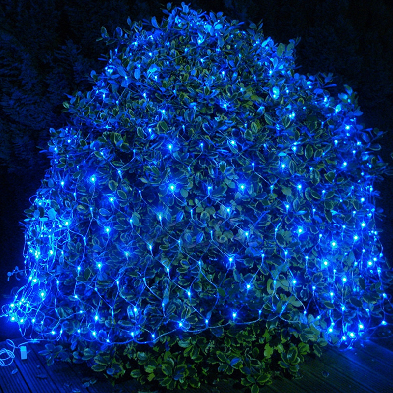 220V 8M *10M 2600 LED Net Light Indoor/Outdoor Landscape Lighting Christmas Wedding New Year Garland Waterproof LED Light String 3x6m led net lights 800 smds christmas natal new year garlands waterproof led string indoor outdoor landscape lighting wholesale