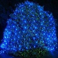 220V 8M *10M 2600 LED Net Light Indoor/Outdoor Landscape Lighting Christmas Wedding New Year Garland Waterproof LED Light String