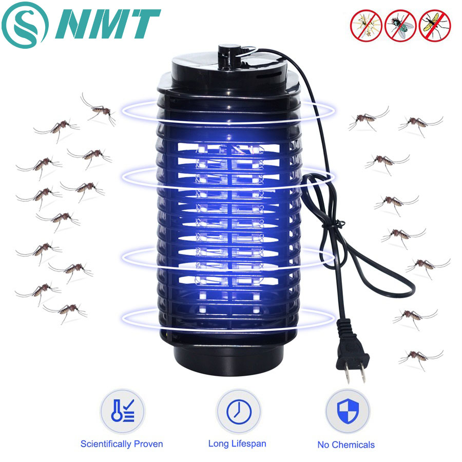 Bug Zapper LED Mosquito Insect Killer Lamp Electric Pest Moth Fly Anti Mosquito Killer Lights Trap Lamps 110V/220V EU US Plug mosquito killer lamp led trap pest insect