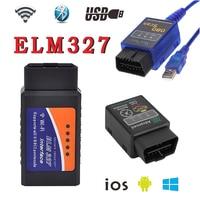 Wifia Usbb BluetoothG ELM327 V1 5 Better Than V2 1 Support All OBDII Protocols Multi Language