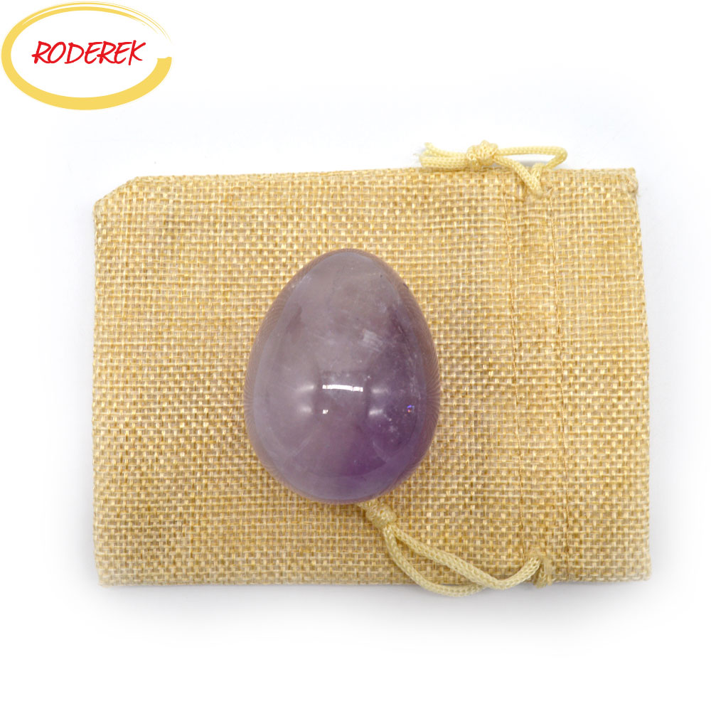 50*38mm Big Jade Egg Exercise Amethyst Yoni Egg Vaginal Exercise Device For Pelvic Muscle Massage Tools roces виды спорта