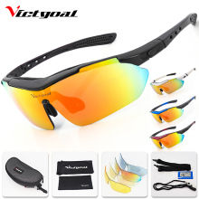 VICTGOAL Cycling Glasses Polarized UV400 Sport Cycling Sunglasses Men Women Running Bicycle Eyewear 5 Lens Mountain Bike Glasses brand fashionable uv400 protection polarized cycling eyewear bike glasses cycling glasses sport glasses 3 lens free shipping