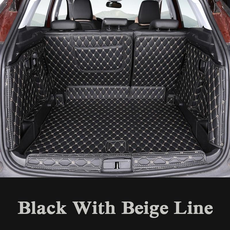 For Peugeot 3008 2017 Present Car Boot Mat Rear Trunk Liner Cargo Floor Carpet Tray Protector Accessories Mats